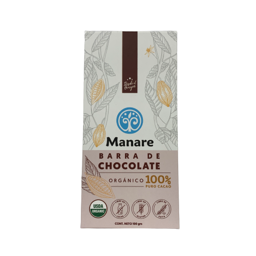 Chocolate 100% Cacao Manare