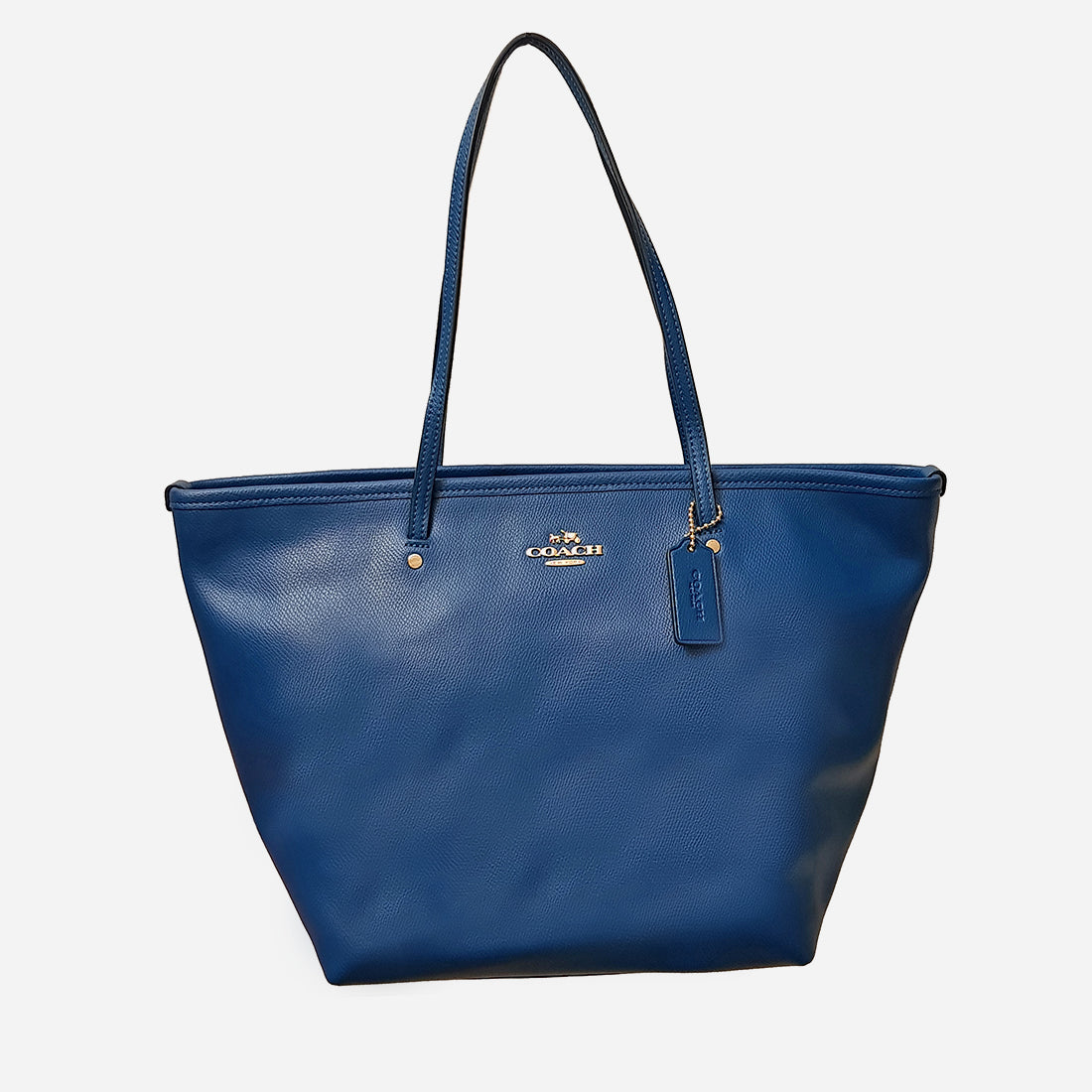 Coach Leather Large  Tote Bag