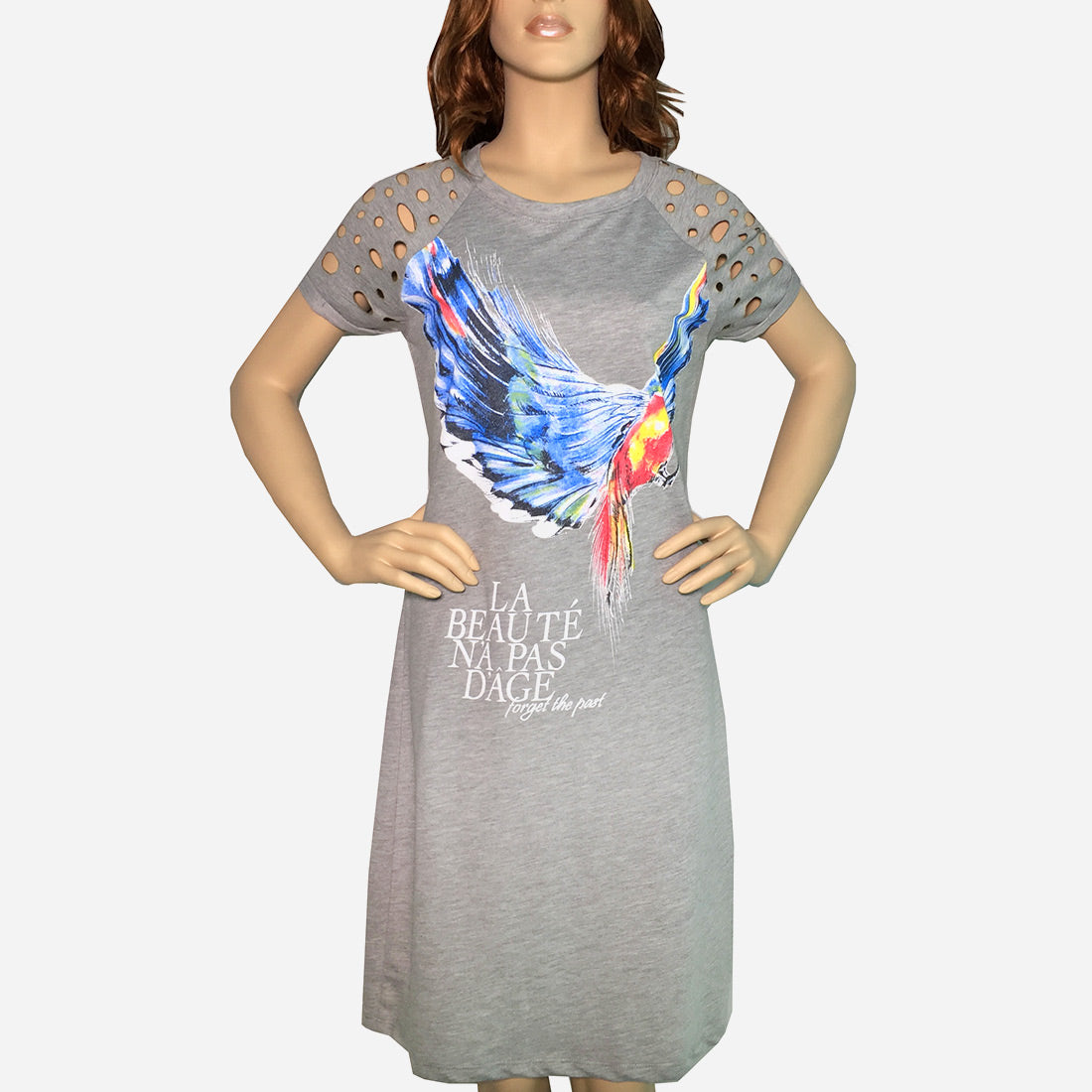 Cotton T-Dress