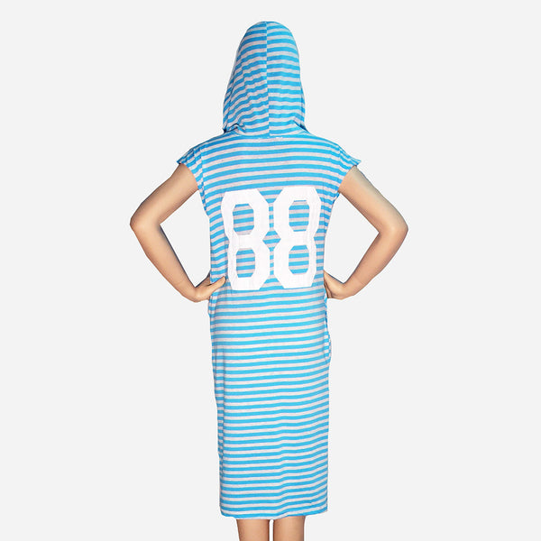 Hooded Cotton Dress