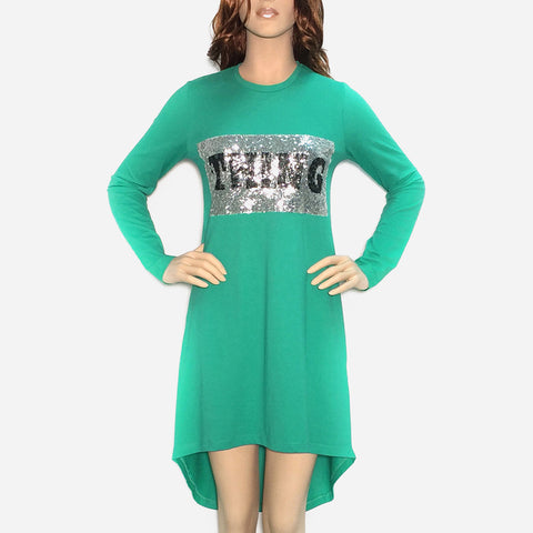 Logo T-Shirt Dress