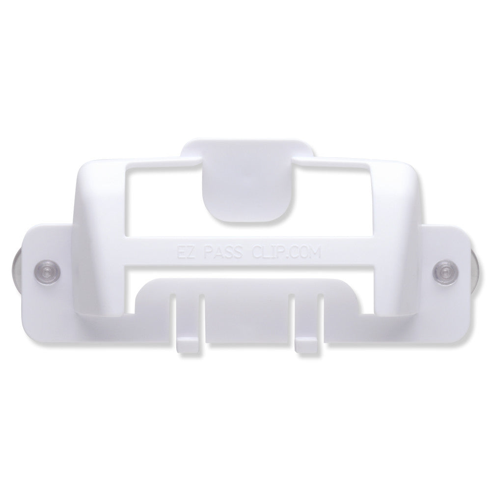 eZpassClip EZ Pass Holder, White