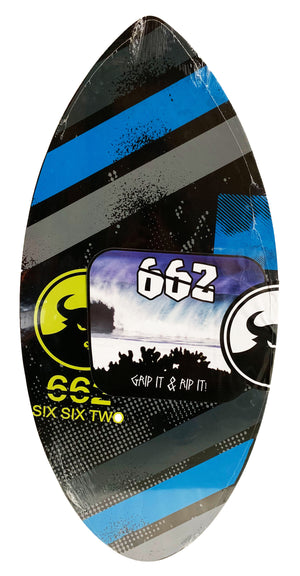 662 Wood Graphic Skimboard
