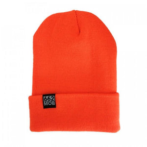 662 Cuffed Beanie Orange - Beanies - 662 Bodyboard Shop