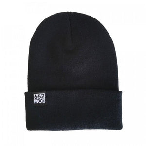 662 Thinsulate Cuffed Beanie Black - Beanies - 662 Bodyboard Shop
