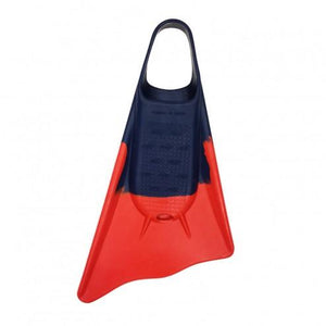 Ally Floating Swim Fins Navy Blue/ Orange - Swim Fins - 662 Bodyboard Shop