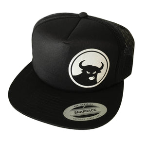 662 Black/White Foam Front Snapback - Hats - 662 Bodyboard Shop