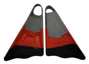 Ally Floating Swim Fins - Tri-Colors