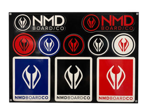 NMD Board Company Sticker Pack - Stickers - 662 Bodyboard Shop