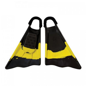 Ally Swim Fins Clark Little Edition Black / Yellow / Black - Swim Fins - 662 Bodyboard Shop