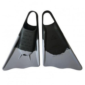 Ally Floating Swim Fins Black/Grey - Swim Fins - 662 Bodyboard Shop