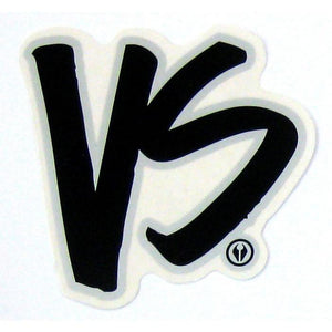 VS Logo Sticker Grey - Stickers - 662 Bodyboard Shop