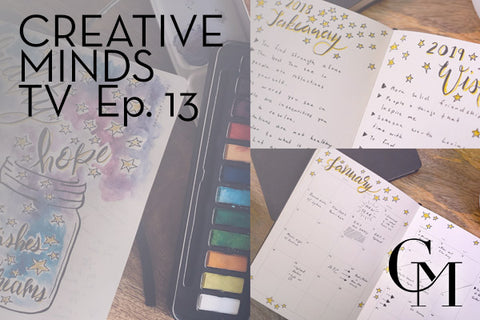 The Fist Creative Minds Journal Setup