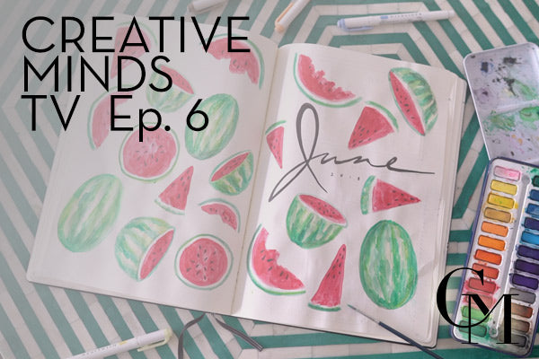 Episode 6: June Bullet Journal; Getting Creative