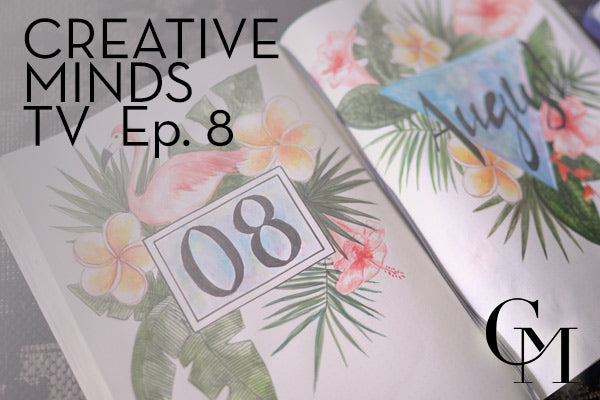 Episode 8: Summer Tropical Journal Theme