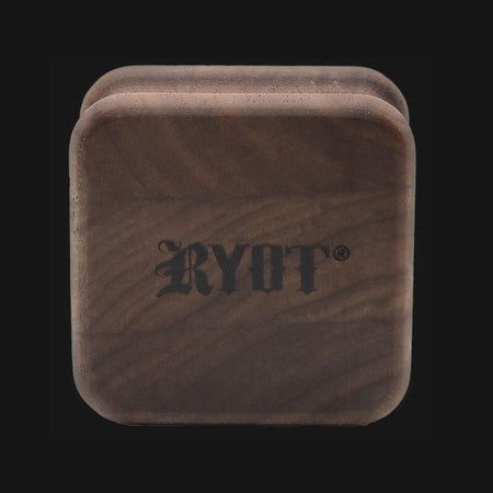 RYOT 1905 SQUARE Wooden Grinder - pipeee.com