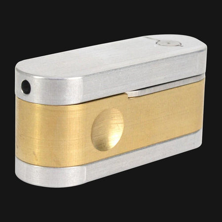 High Tech Pipes - M.E.T.R.O. Pipe - Brass - pipeee.com