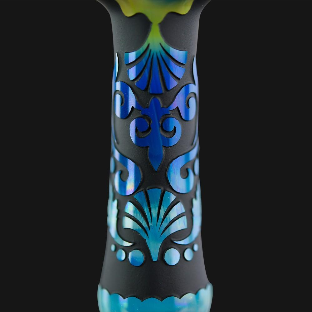 Liberty 503 Glass - Nightdream Sandblasted Spoon Pipe - pipeee.com