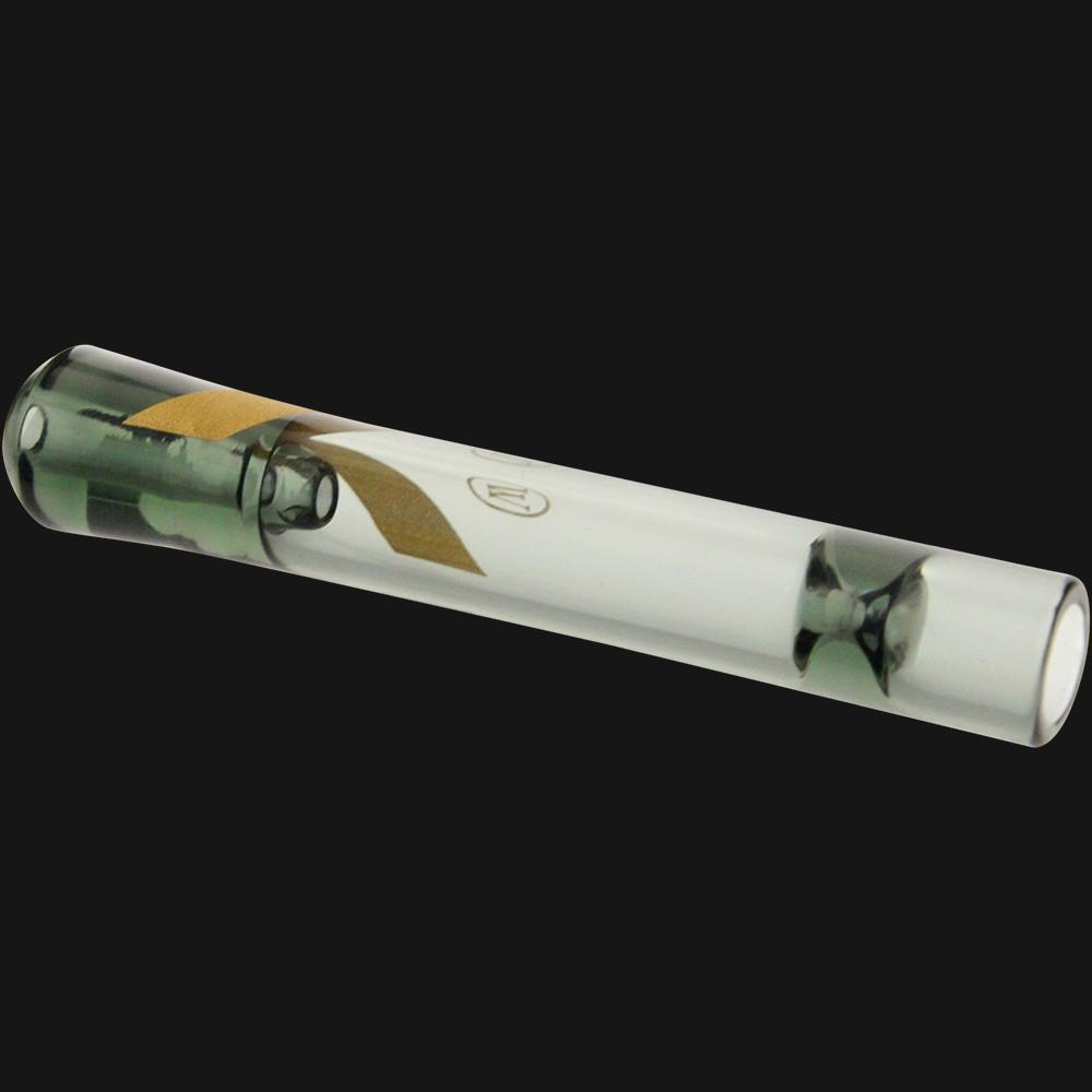 Marley Natural One-Hitter Smoked Glass Pipe - pipeee.com