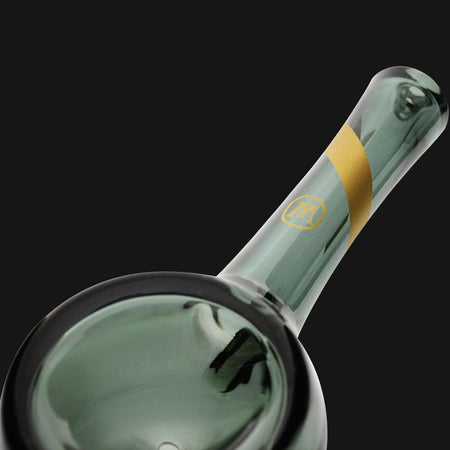 Marley Natural Smoked Glass Spoon Pipe - pipeee.com