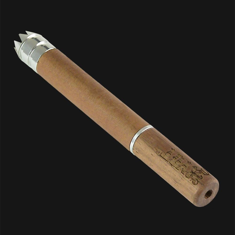 RYOT Taster Bat Digger Twist Wooden One Hitter Pipe - pipeee.com