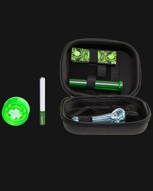 The Happy  Kit Smell Proof All In One  Smoking Kit - pipeee.com