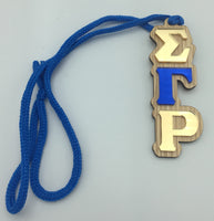 Sigma Gamma Rho - Tiki Necklace