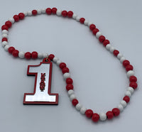 Kappa Alpha Psi - Line Number Tiki Necklace #1