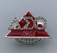 Delta Sigma Theta - Stretchy Ring