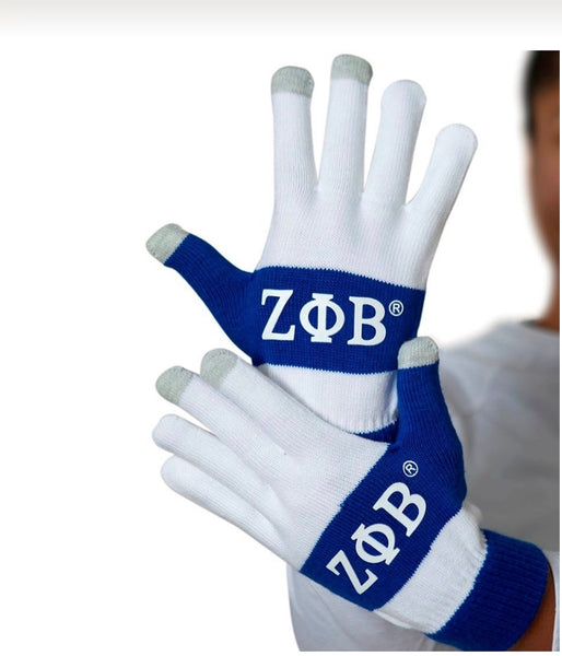 Zeta Phi Beta - Knit Texting Gloves