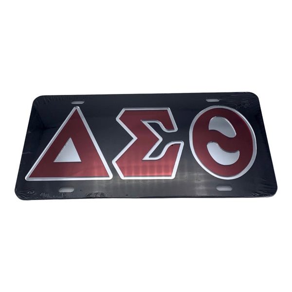 Delta Sigma Theta - Black Mirror License Plate