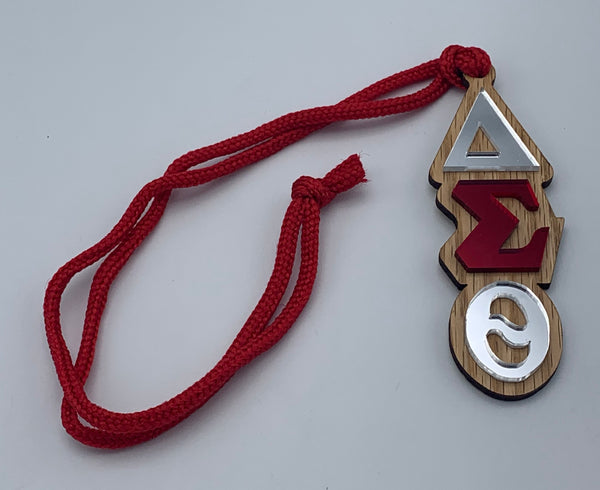 Delta Sigma Theta - Tiki Necklace