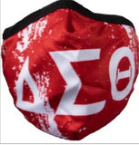 Delta Sigma Theta - Face Mask (Red)