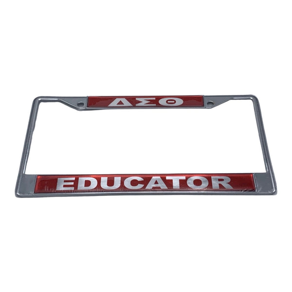 Delta Sigma Theta - Educator License Plate Frame