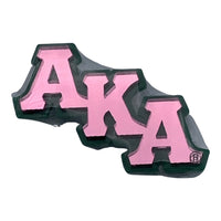 "Alpha Kappa Alpha - 3"" Large Lapel Pin"