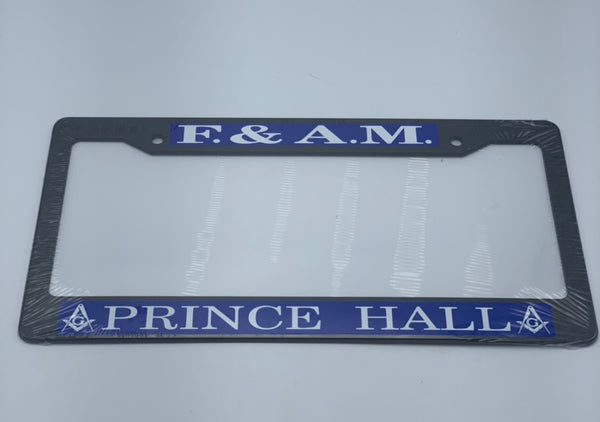 Mason (Prince Hall)- Plastic License Plate Frame