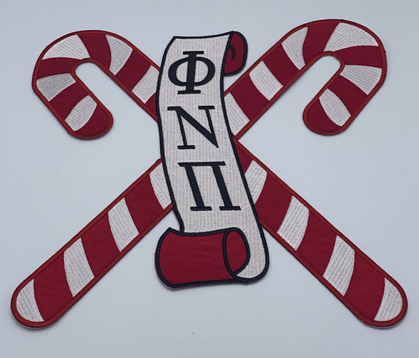 "Kappa Alpha Psi - Phi Nu Pi   5""Embroidered (Iron on) Patch"