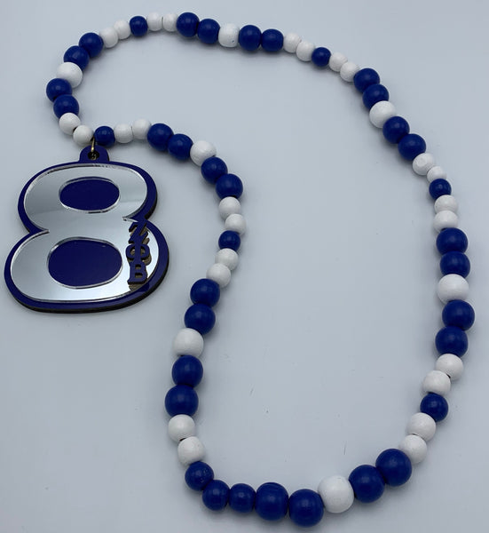 Zeta Phi Beta - Beaded Tiki Necklace #8