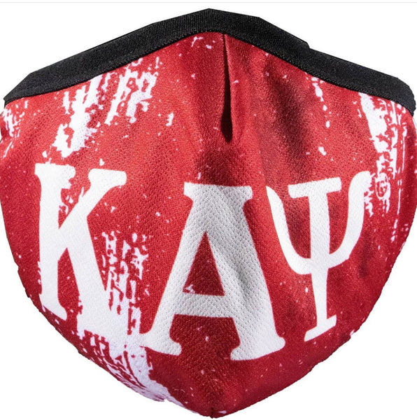 Kappa Alpha Psi - Face Mask (Red)