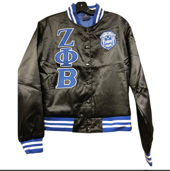 Zeta Phi Beta - Satin Jacket