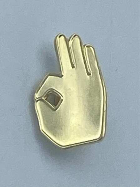 Kappa Alpha Psi - Ok Lapel Pin