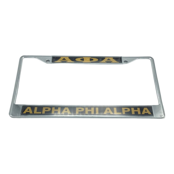 Alpha Phi Alpha - License Plate Frame