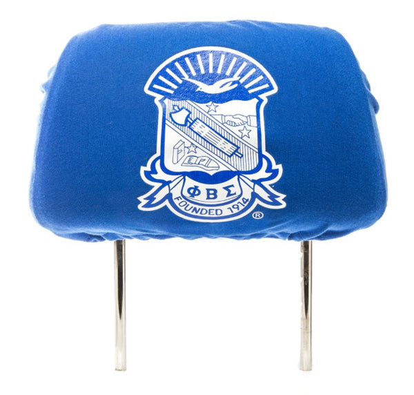 Phi Beta Sigma -  Car Seat Head Rest Cover