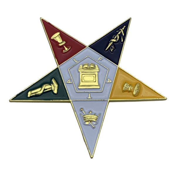 Order of The Eastern Star - Car Decal