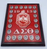 "Delta Sigma Theta - Founders Wall Plaque 9"" x12"""