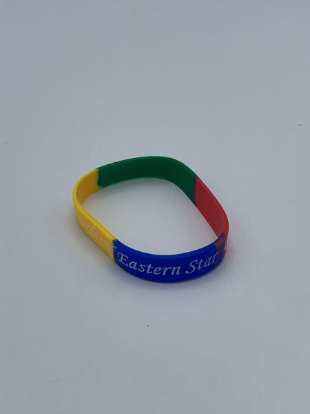 Order of The Eastern Star - Silicon Wrist Band