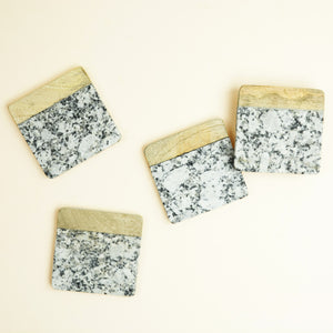 Aarnav Granite Coaster Set of 4