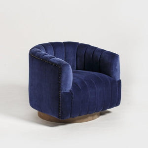Ayanda Arm Chair - Midnight Blue