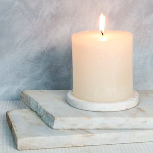 Cotton Blossom Candle - 100mm x 100mm