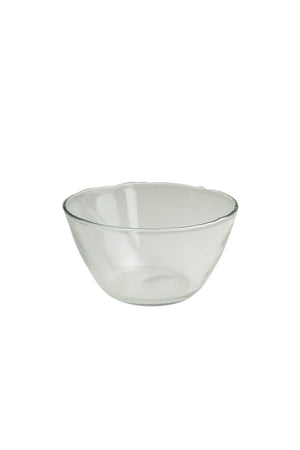 Dulari Glass Bowl - Clear Glass